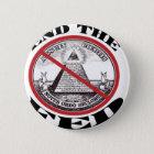 No Federal Reserve Pinback Button