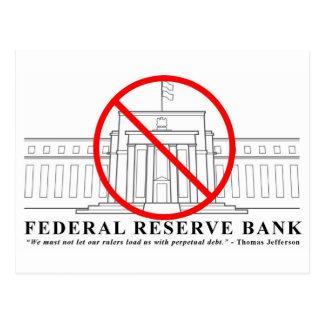 No Federal Reserve postcard