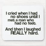 """No Feet Mousepad"""""""