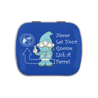 No Ferrets For Gnomes Jelly Belly Tin