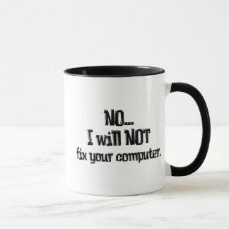 No fijará su ordenador