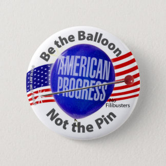No Filibusters Pinback Button