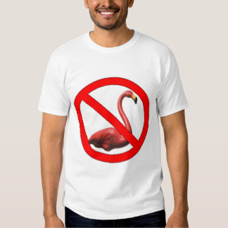 No Flamingos T Shirt