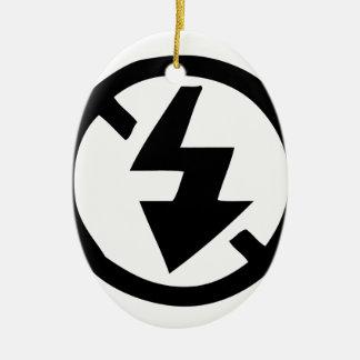 No Flash Photography Ceramic Ornament