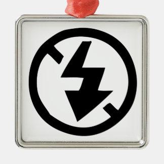 No Flash Photography Metal Ornament