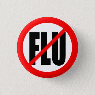 """NO FLU"" PINBACK BUTTON"