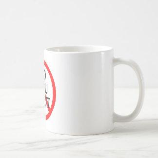 No Flu Shot Coffee Mug