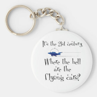 No Flying Cars? Keychain