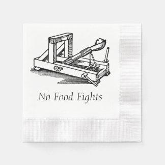 No Food Fights Napkin