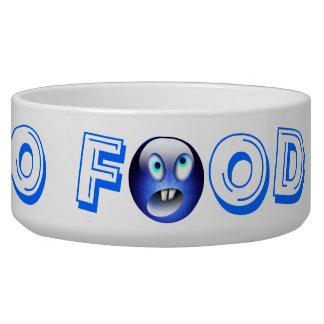 NO FOOD !! Your Pet Bowl Dog Food Bowls