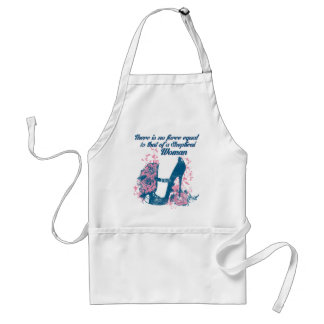 No Force Equal to a Skeptical Woman Adult Apron