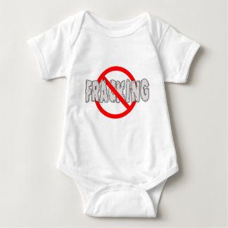 NO FRACKING! End Fracking Baby Bodysuit