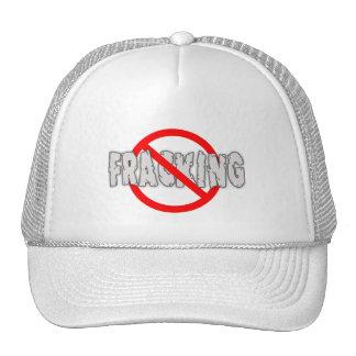 NO FRACKING! End Fracking Trucker Hat