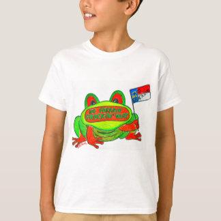 No Fracking in North Carolina Frog T-Shirt