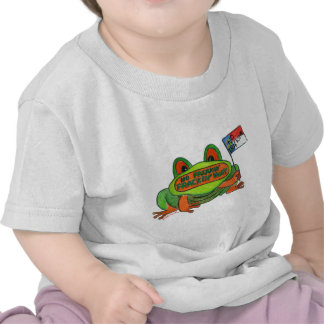 No Fracking in North Carolina Frog Tshirt