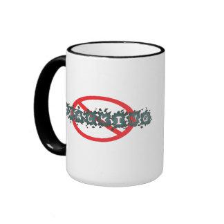 No Fracking Mug