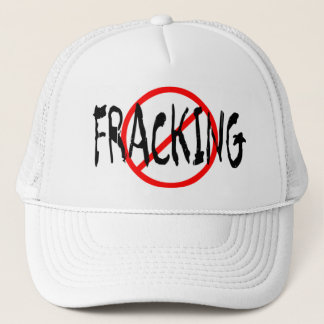 No Fracking Trucker Hat