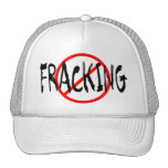 No Fracking Trucker Hats