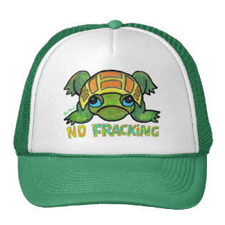 No Fracking Truckers Hat