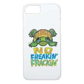 No Fracking Turtle iPhone 7 case
