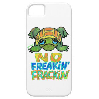 No Fracking Turtle IPhone Case