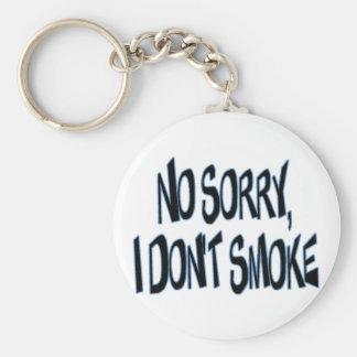 No fumo llaveros