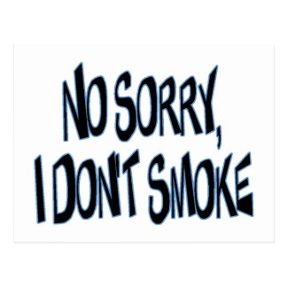 No fumo postales