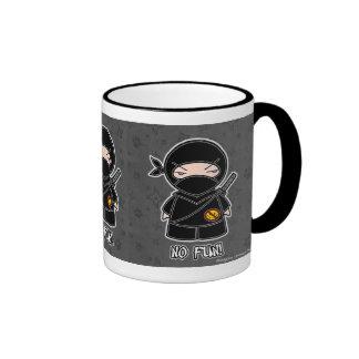 No Fun! Ninja Mug