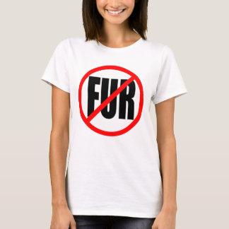 """""""NO FUR"""" T-Shirt"""