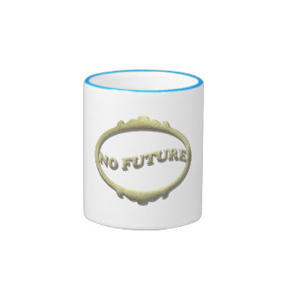 No Future Ringer Mug