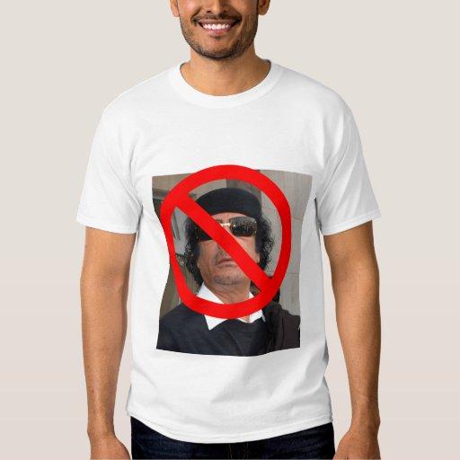 NO Gaddafi T-Shirt