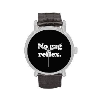 NO GAG REFLEX WRIST WATCHES