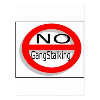 No Gangstalking Postcard