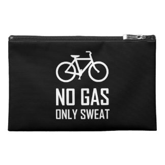 No Gas Bike Only Sweat Travel Accessory Bag