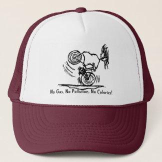 No Gas, No Pollution, No Calories Trucker Hat