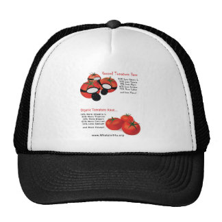 No Gassed Tomatoes Trucker Hat