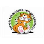 No gato del linfoma de Hodgkins Postal