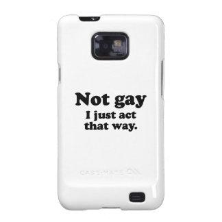 No gay. Apenas actúo esta manera. .png Galaxy SII Fundas