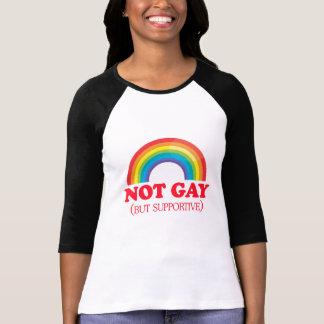 NO GAY, sino de apoyo Camisetas