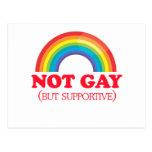 NO GAY, sino de apoyo Postales