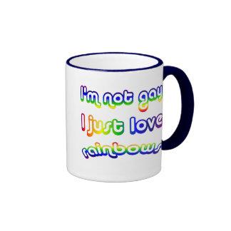 No gay sino yo ame la taza de café de los arco iri