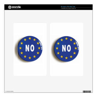 No:  Get The UK Out of the EU Decals For Kindle Fire