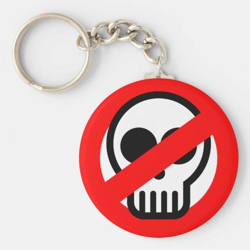 No Ghosts Keychains