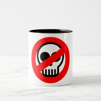 No Ghosts Two-Tone Coffee Mug