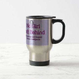 No Girl Left Behind 15 Oz Stainless Steel Travel Mug