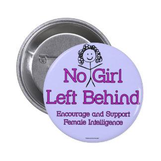 No Girl Left Behind Pin