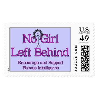 No Girl Left Behind Postage