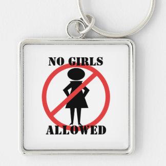 No Girls Allowed Keychain