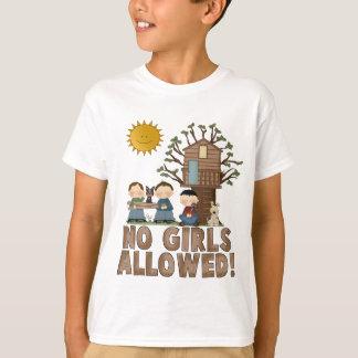 No Girl's Allowed Kids T-Shirt