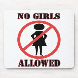 No Girls Allowed Mouse Mat